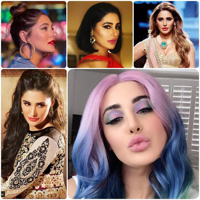 Nargis Fakhri Hairstyles