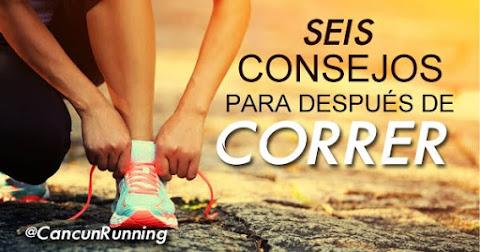 después de correr