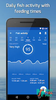 Fishing Points GPS Tides And Fishing Forecast Premium APK