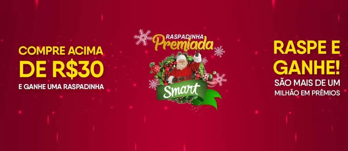 Promoção Smart Supermercados Natal 2019 Raspadinha Premiada - 1 Milhão de Reais