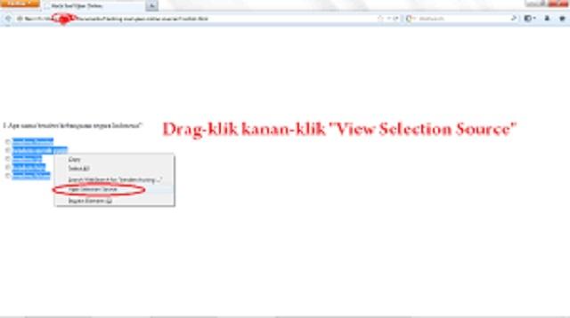 Cara Hack Ujian Online di HP