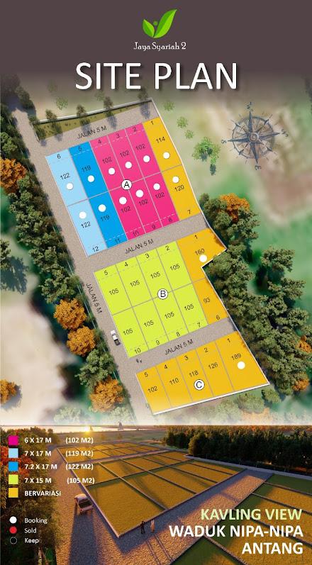Kavling Jaya Syariah 2, Property Syariah, Sabran Property Syariah, Tanah Kavling