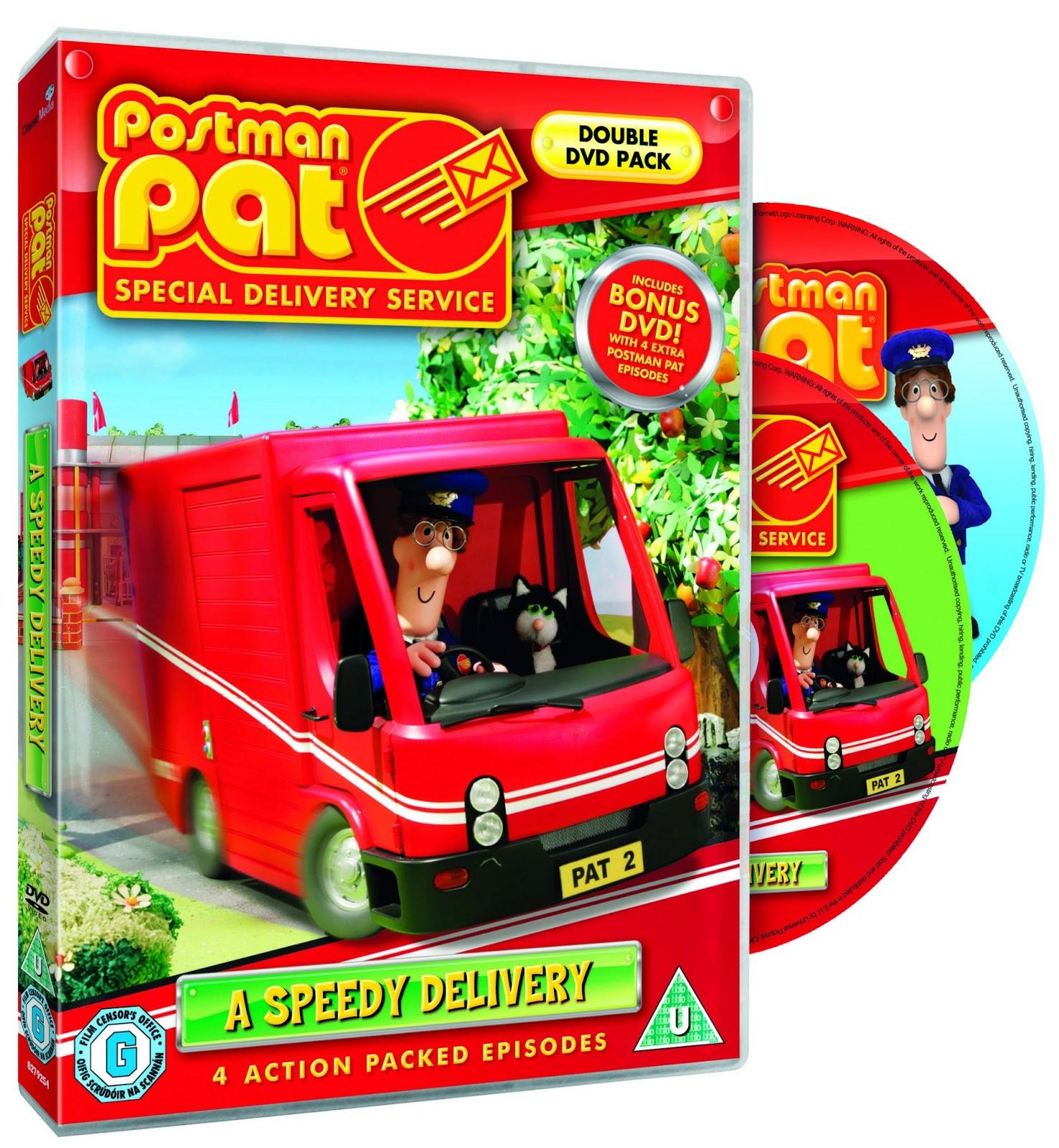 Postman Pat SDS véhicules