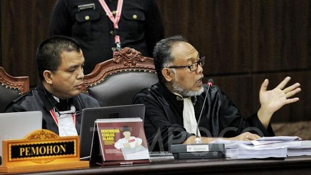 Momen saat Hakim MK Minta Bambang Widjojanto Diam atau Keluar