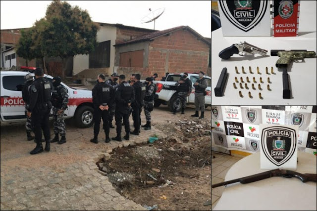 Operação prende suspeito de 18 assassinatos no Sertão da Paraíba