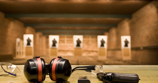 Feeling Stressed? Take a Visit to The Shooting Range!
