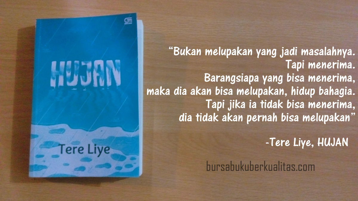 review novel hujan karya tere liye