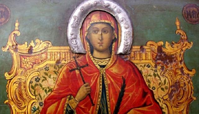 Το θαύμα της Αγίας Μαρίνας