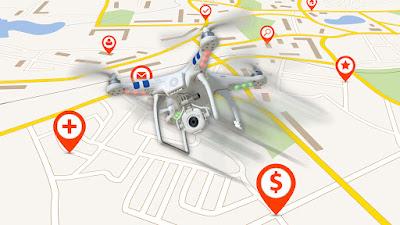 Apple drones competencia Google Maps