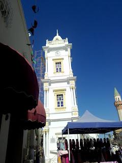 برج الساعة بالمدينة القديمة طرابلس