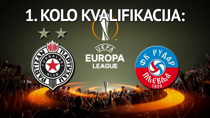 Partizan u 1. kolu kvalifikacija dobio klub iz Crne Gore!