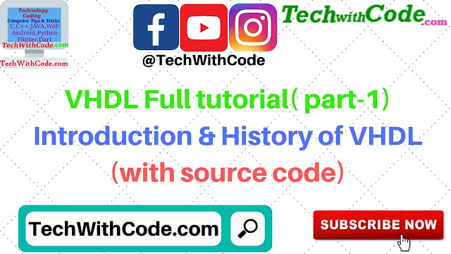 What is VHDL[techwithcode.com]