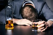 What is chronic binge alcohol administration?