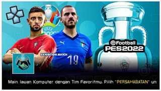 Download eFootball PES 2022 LITE PPSSPP Indonesian Version  Edisi EURO 2020 & Update Transfer