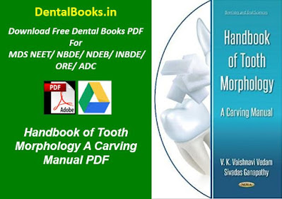 Handbook of Tooth Morphology A Carving Manual PDF
