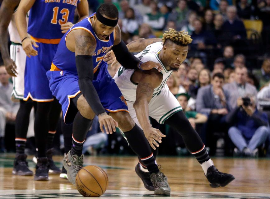 Celtics snap three-game losing streak, blow out Knicks 115 ...