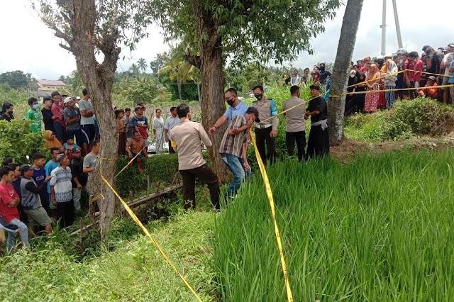 Sempat minta jemput, warga Suela ditemukan meninggal di parit sawah