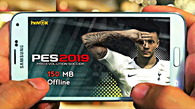 PES 2019 Lite 150 MB Android Offline Patch 2012 New Kits,Squad