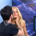 X-Factor, 5o live: Προσπάθησε να φιλήσει την Αραβανή στο στόμα! (video)
