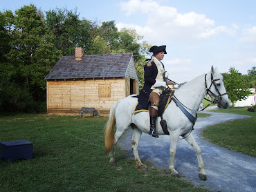 Belle with General Washington (Gregory Fisher)