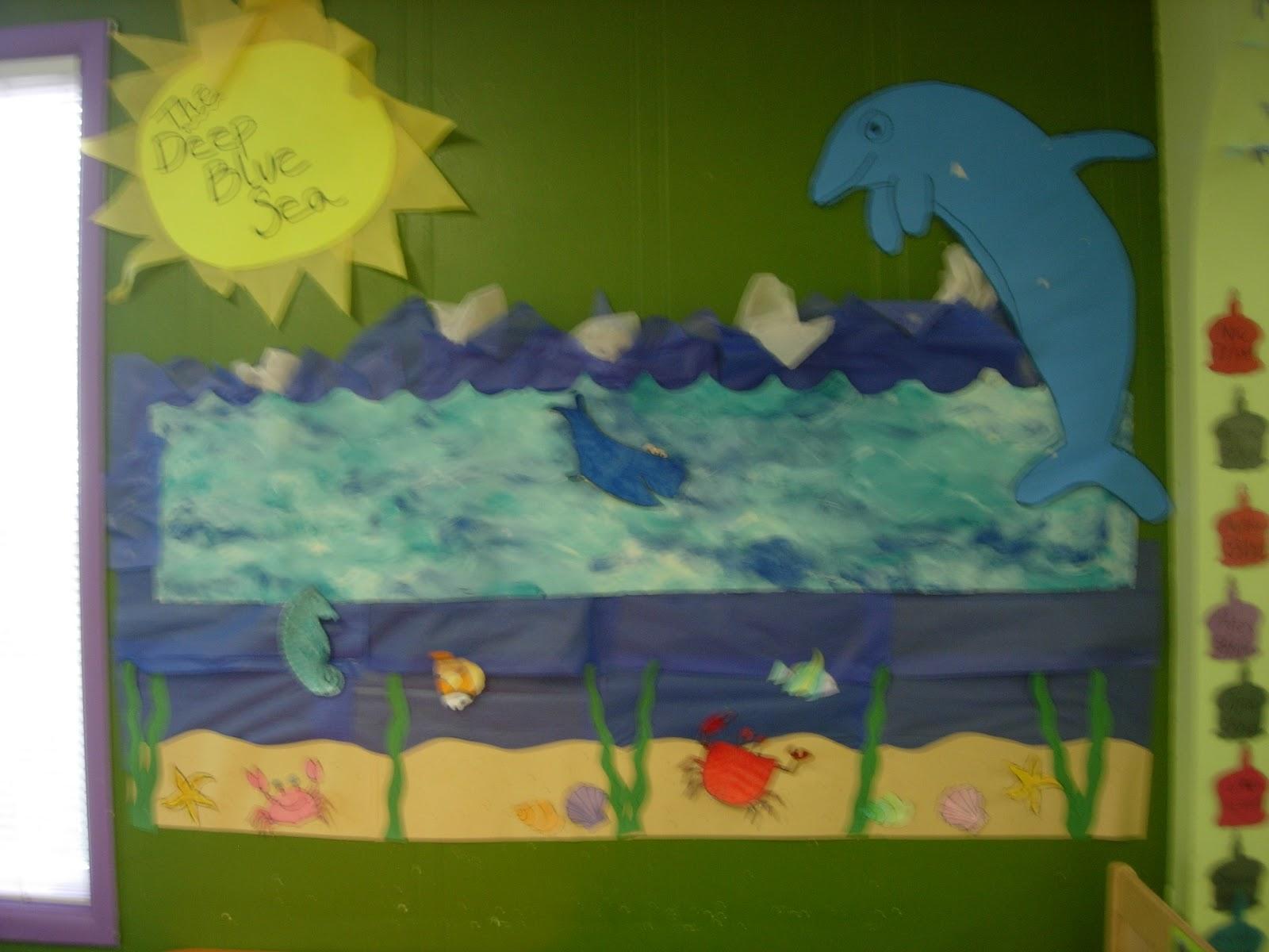 The Early Preschool Classroom Last Weeks Theme Under The Sea