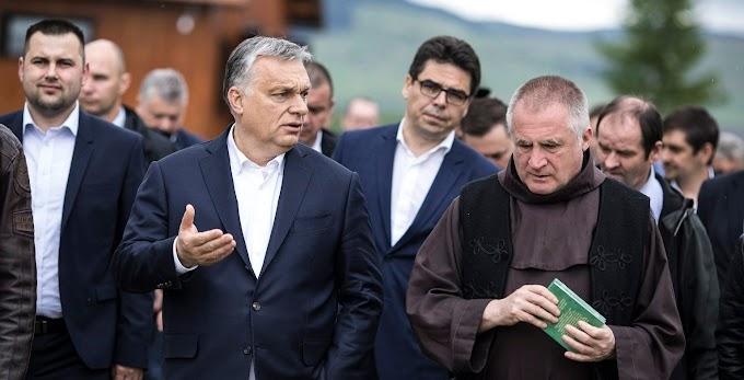 Böjte Csaba és Orbán Viktor egy amerikai katolikus magazin Év embere toplistáján