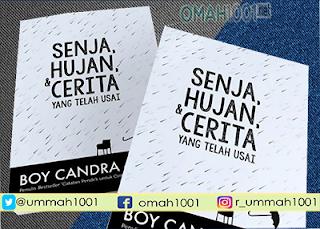 E-Book: Senja, Hujan, Dan Cerita Yang Telah Usai - Boy Candra, Omah1001