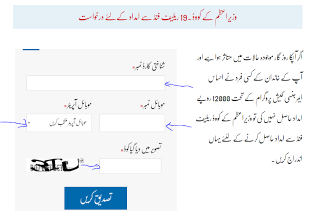 Steps To Apply For Ehsaas Labour Cash Program