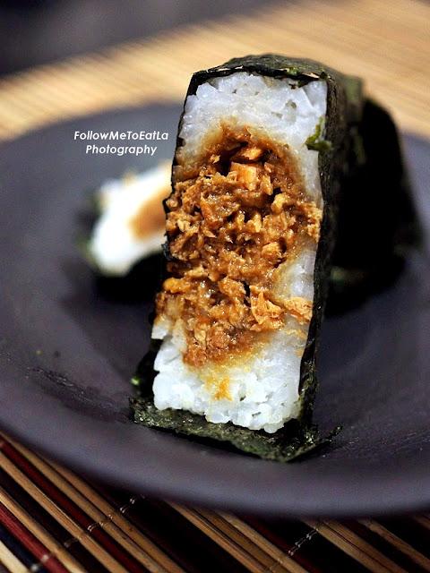 Salmon Teriyaki Onigiri  RM 4.20