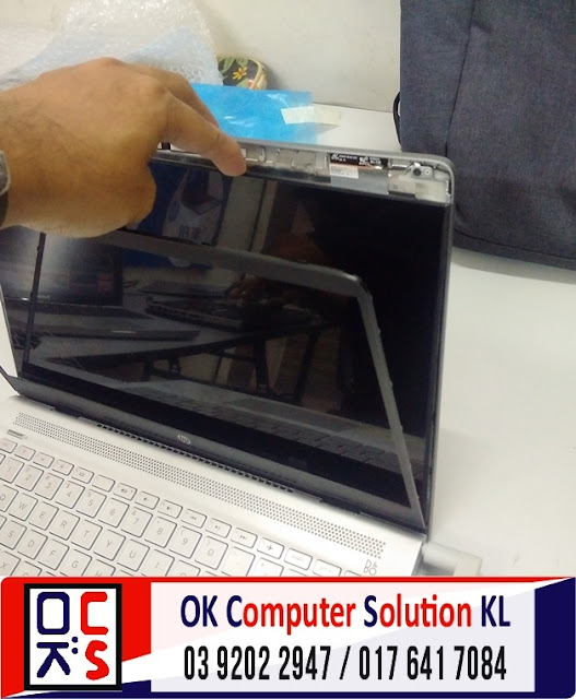 [SOLVED] SKRIN LAPTOP HP 14-bf021TU RETAK | REPAIR LAPTOP CHERAS 3