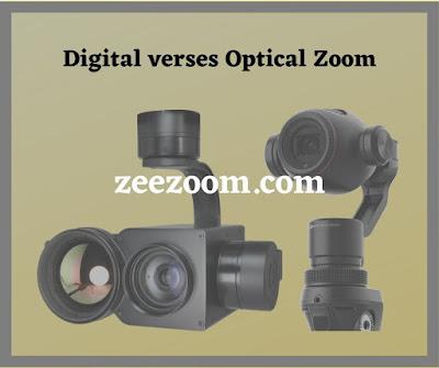 Digital verses Optical Zoom