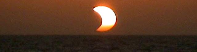 Eclipse solar parcial - 13 e julho