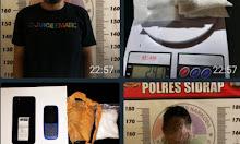 Tawari Lima Bal Sabu, Warga Pinrang Diciduk Polisi