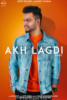 Akh Lagdi Lyrics - Akhil   Desiroutz Song