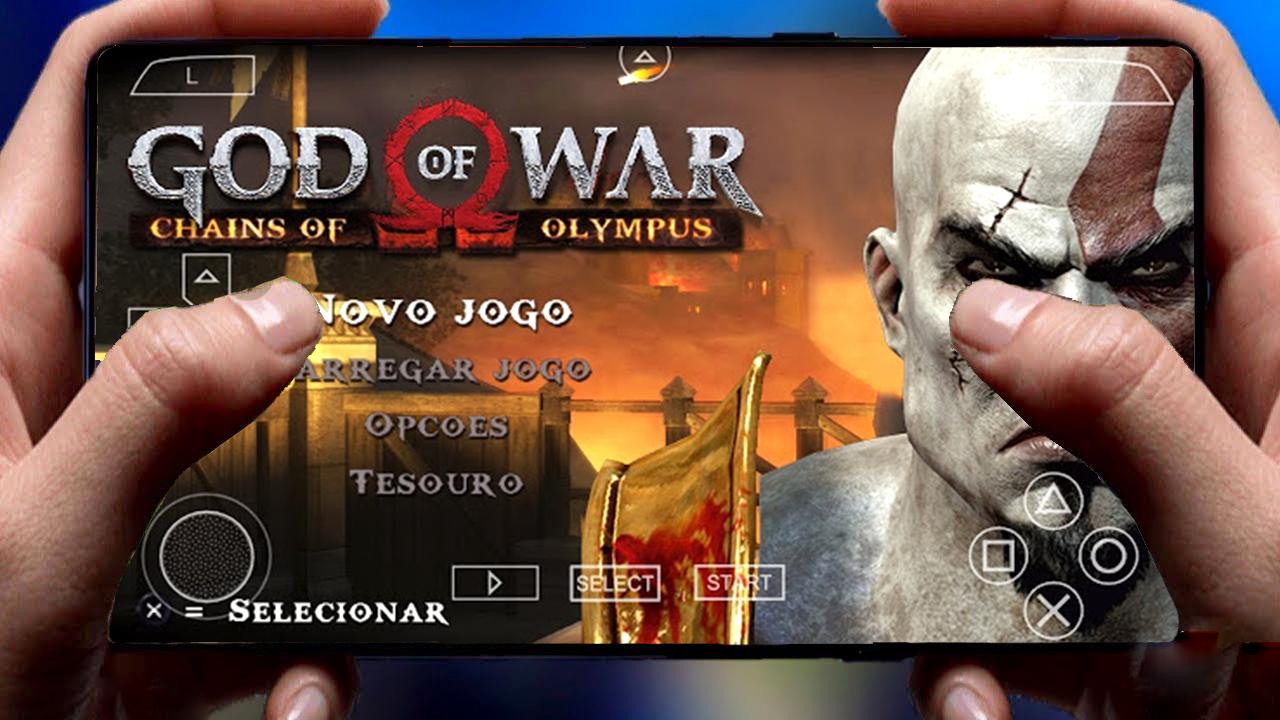 تحميل لعبة إله الحرب God Of War أسطورية للأندرويد
