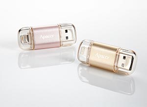 Apacer AH190 Dual Flash Drive