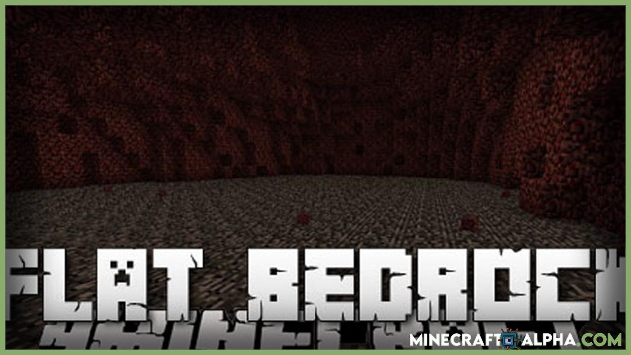 Minecraft Flat Bedrock Mod 1.17.1
