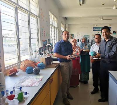 Kunjungan Inspirasi STEM dari Warga SK Hutan Kampung