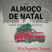 #Cancelado - Almoço de Natal 2019 - Range Rover Fans Portugal