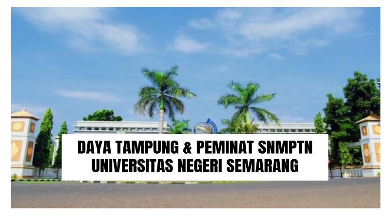 Daya Tampung SNMPTN UNNES 2022/2023 (Universitas Negeri Semarang)