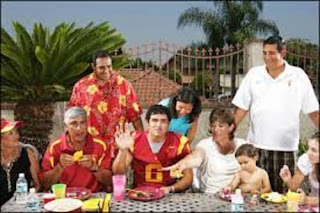 Mark Sanchez With His Family