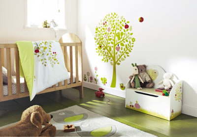 Decorar el cuarto de un beb dormitorios con estilo - Como decorar el dormitorio de un bebe ...
