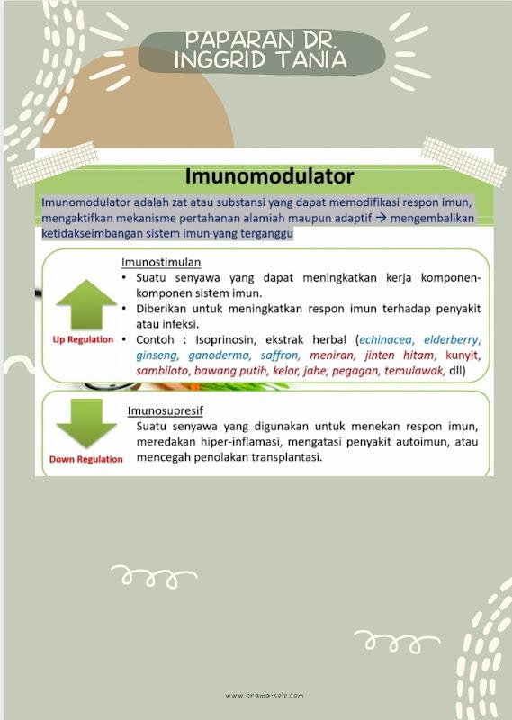 Apa itu imunomodulator