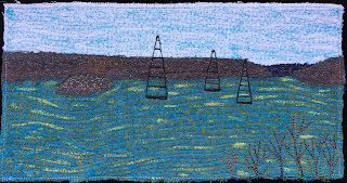 Week 39 Panel, 52 Ways to Look at the River, by Sue Reno
