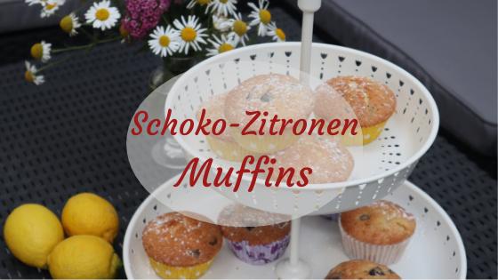 Schokoladen Zitronen Muffins Rezept