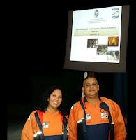 Marcella Rodrigues, geotécnica, e o sargento BM Moreira, do Cemaden, falam sobre Gerenciamento de Desastres e Abrigos Temporários