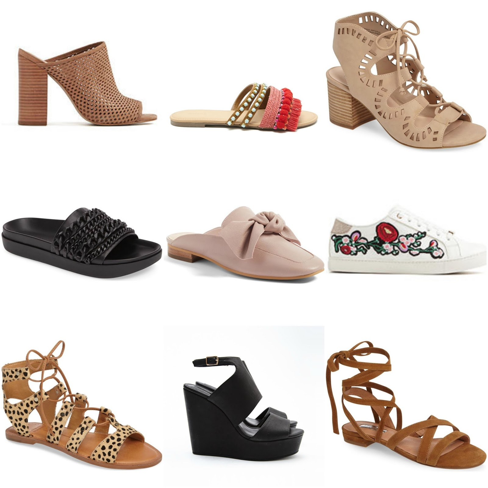 The spring best shoes catalog photo