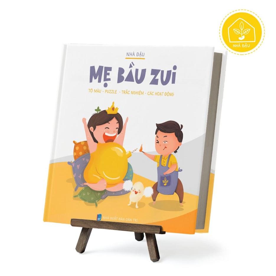 [A116] Sách tô màu thai giáo cho Bà Bầu - Mẹ Bầu Zui