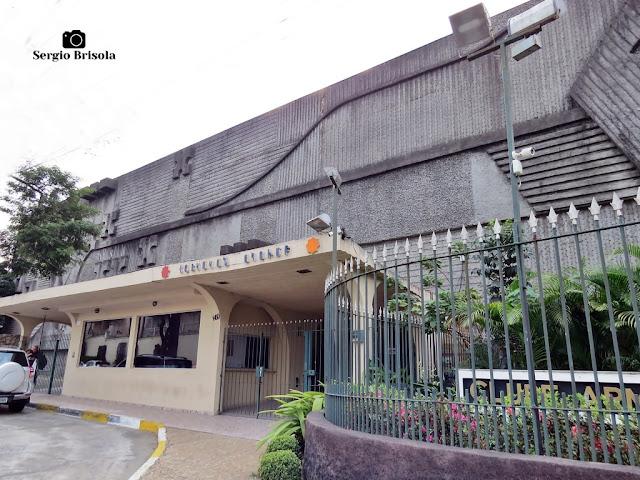 Vista da fachada do Clube Armênio - Moema - São Paulo