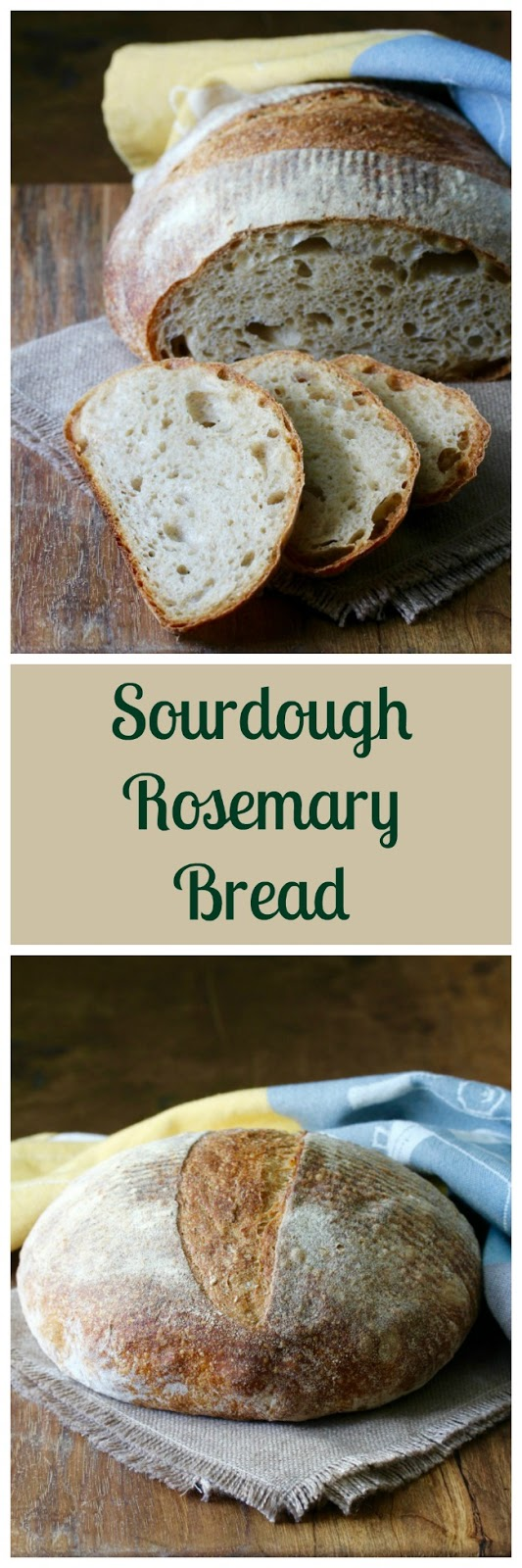 This Pain Au Romarin Or Rosemary Bread Is One Of My Favorite Sourdough Breads